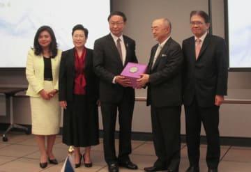 サイバーセキュリティー人材を育成する「日ASEANサイバーセキュリティ能力構築センター」が開所した=14日、バンコク (NNA撮影)