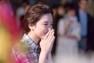 NHKの連続テレビ小説「半分、青い。」でヒロインの鈴愛を演じてきた永野芽郁さん (C)NHK