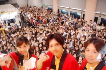京都国際マンガ・アニメフェア2018で開催されたテレビアニメ「逆転裁判」シリーズのイベントの様子
