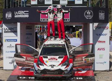 WRC第10戦トルコ、優勝はトヨタの#8 タナク組。