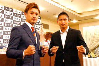 K-1で日本人選手に連敗を喫しているゲーオ(右)だが、大和(左)は「以前と印象は変わらない」と警戒