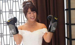 7月に結婚したばかりの桐生祐子改めYuko.S。公私ともに充実して川村を迎え撃つ