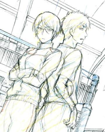 「ヲタクに恋は難しい」の新作アニメのラフ=一迅社提供