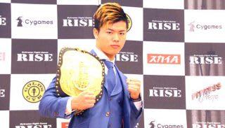 KIDが盛り上げた日本の格闘技界を、再び盛り上げていくとKIDに誓った那須川