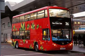 ZFの電動パワートレーンを搭載する英国ロンドンの新型2階建てバス
