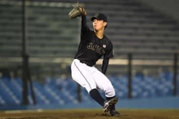 日米大学野球選手権大会で日本代表に選出されていた国際武道大学・伊藤将司【写真:Getty Images】