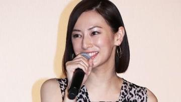 映画「響 -HIBIKI-」の初日舞台あいさつに登場した北川景子さん