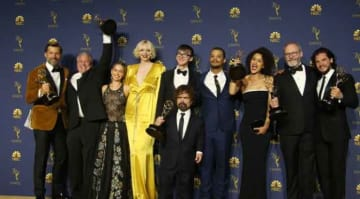 Game of Thrones cast at Emmys 2018