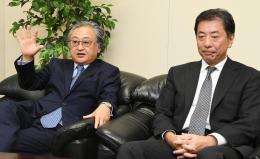 今後の事業展開などを語る木下氏(左)と渡辺氏