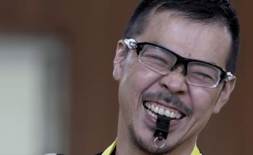 三阪洋行選手兼任監督 (ウィルチェアーラグビー)