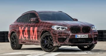 BMW X4M の開発プロトタイプ車