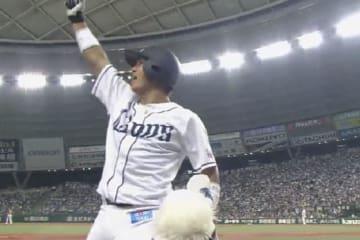 プロ初本塁打を放った西武・山田遥楓【画像提供:(C)PLM】