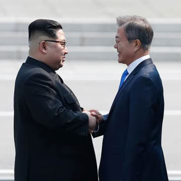南北首脳会談 南北 首脳 文在寅 金正恩 北朝鮮 韓国