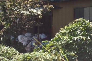 代執行を受けた住戸(2018年9月中旬、神奈川県横須賀市)