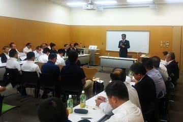 理事会の前に行われたパワハラ講習