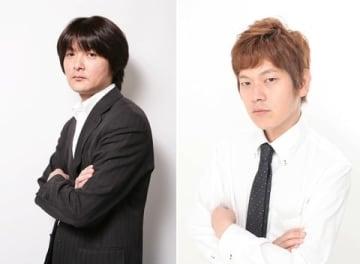 福本伸行さんのマンガが原作の連続ドラマ「天 天和通りの快男児」に出演が決まったプロ雀士の瀬戸熊直樹さん(左)と猿川真寿さん