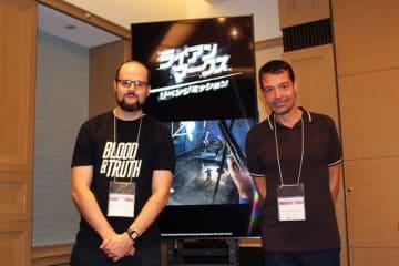 VRFPS『ライアン・マークス リベンジミッション』メディアセッションレポ―VRで華麗なガントリックを披露!?【TGS 2018】