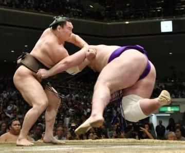 白鵬 すくい投げ 栃ノ心 稀勢の里 相撲 大相撲 横綱 対決 千秋楽