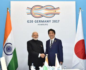 Indian PM Modi, Japanese PM Abe