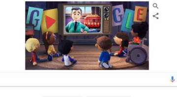Google Doodles Celebrates 'Mister Rogers' Today