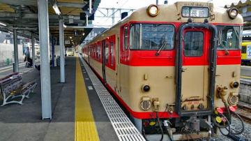JR九州 国鉄色キハ66 67形で「あったがわの旅」