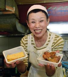地元民から愛される総菜屋「千成」の店主・山野すま子さん=神戸市垂水区上高丸3