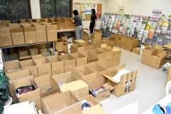 倉敷市への生活物資寄付が低調