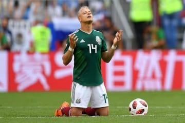 メキシコ代表を引っ張ってきたエルナンデス photo/Getty Images