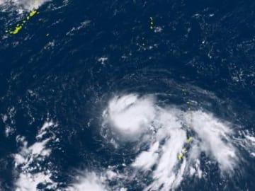 【台風24号】北寄り進路で28日以降、沖縄接近の可能性も 熱帯低気圧が発達 23日には暴風域も