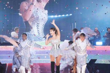 浜崎あゆみさんのデビュー20周年記念ツアーファイナルの模様