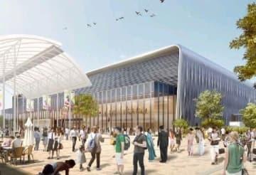 福岡市新展示場、整備業者決定 マリンメッセと屋根で連結