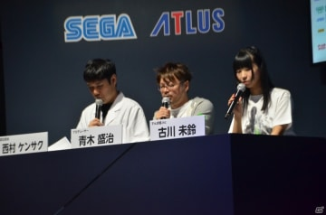 左から)西村ケンサクさん、青木盛治氏、古川未鈴さん