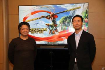 ディレクターの服部達也氏(左)とプロデューサーの北川竜大氏。