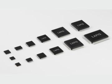 ラピスセミコンダクタが開発した16bitマイコン「ML62Q1300/1500/1700グループ」。業界トップクラスの120 機種をフルラインアップし、家電・産業機器用途を網羅する