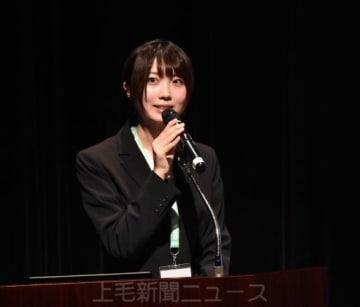 「ユーチューブを使った和食の発信」を提案する寺田さん