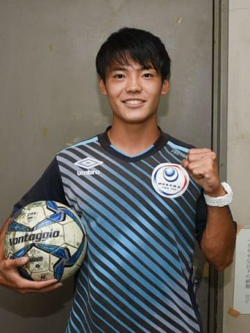 【松本山雅FCへの入団が内定した四中工3年山本】