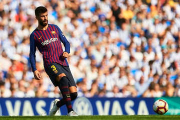 バルセロナのピケ photo/Getty Images