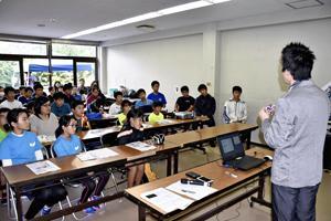 アンチ・ドーピング徹底図る 県カヌー協会、二本松で講習会