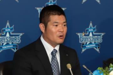 今季限りでの現役引退を表明したDeNA・後藤武敏【写真:荒川祐史】