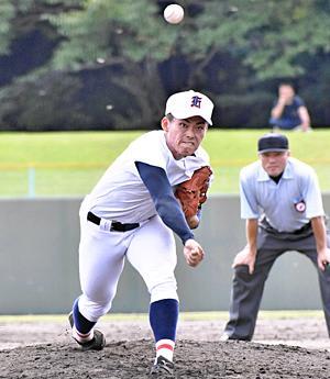 福島商先発・渡辺「4回6点重かった」 聖光学院に雪辱ならず