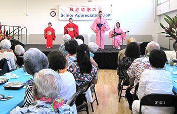 【アメリカ】80歳以上87人、100歳も 北米県人会 「敬老感謝の日」開催