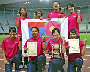 東邦銀行が女子総合V 実業団陸上、武石が女子400初優勝