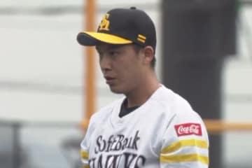 オリックス戦に登板したソフトバンク・岩嵜翔【画像提供:(C)PLM】