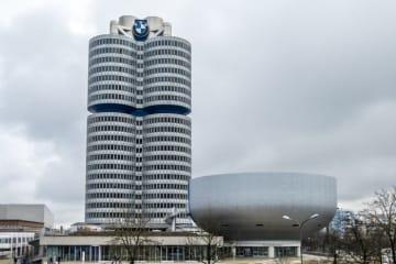 BMWのドイツ・ミュンヘン本社。(c) 123rf
