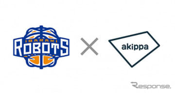 akippaとBリーグ 茨城ロボッツが提携