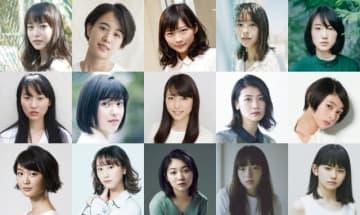 映画『21世紀の女の子』に出演する主要キャストたち