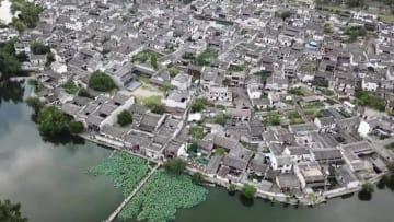水墨画のような村を散策 安徽省宏村