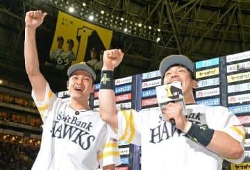ソフトB大竹、憧れヤフオクで初勝利 初お立ち台 チームも6連勝
