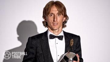 モドリッチ、FIFA年間最優秀選手賞に輝く。Cロナウドは授賞式欠席