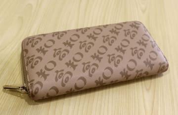 '고치' 문자 새겨진 장지갑 인기